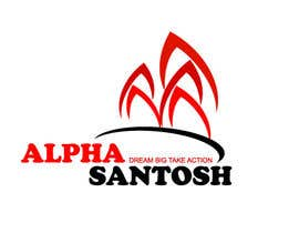 #31 cho Design a Logo for Alpha Santosh youtube channel bởi krisgraphic