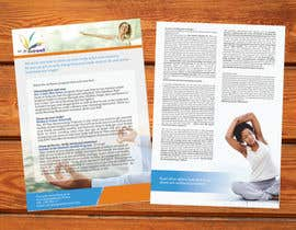 #12 cho Design a Flyer for our wellness programs bởi barinix