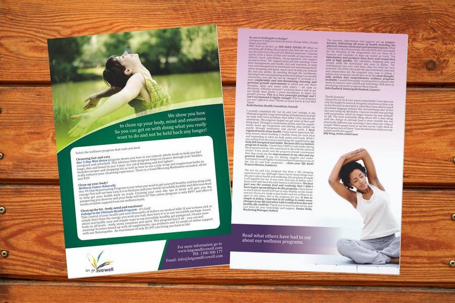 Bài tham dự cuộc thi #                                        13                                      cho                                         Design a Flyer for our wellness programs