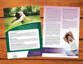 #13 cho Design a Flyer for our wellness programs bởi barinix