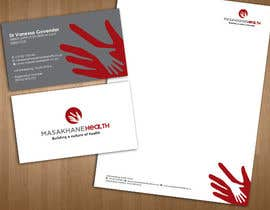#12 untuk Design a letterhead and business cards for a health consulting company oleh teAmGrafic