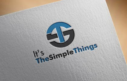 "#39 untuk Design a Logo for ""It's The Simple Things"" blog oleh feroznadeem01"