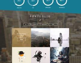 #4 for Design my portfolio page af khuyentk04
