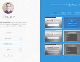 #11 for Design my portfolio page af decalt