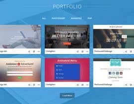 #16 for Design my portfolio page af arpit9009