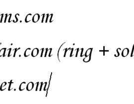 #159 untuk Website Name oleh SmartestLancer