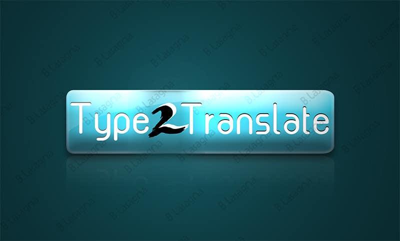 Bài tham dự cuộc thi #                                        14                                      cho                                         Design a Logo for www.type2translate.com