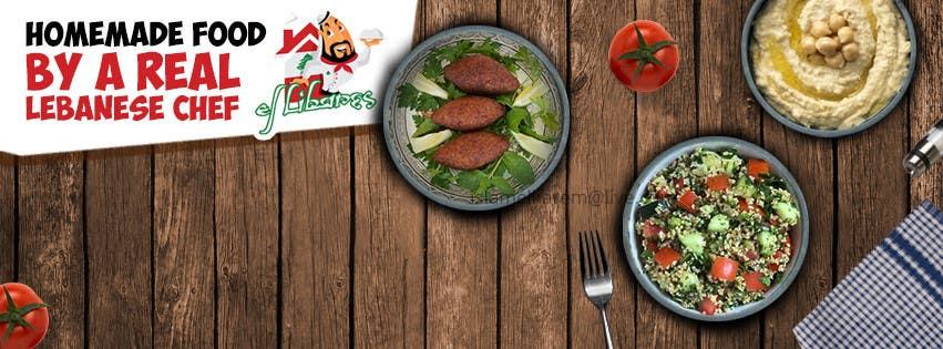 Bài tham dự cuộc thi #3 cho Cover photo for Facebook - Lebanese Food Restaurant