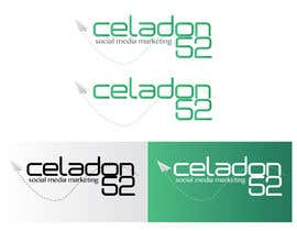 #38 untuk Design a Logo for Celadon 52 Social Media Marketing oleh amirakarmila