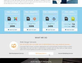 #1 for Redesign of Website 2 Pages. Attractive eye catch layouts required by Hardiq108