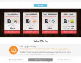 #7 for Redesign of Website 2 Pages. Attractive eye catch layouts required by Hardiq108
