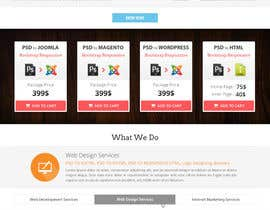 #9 for Redesign of Website 2 Pages. Attractive eye catch layouts required af Hardiq108