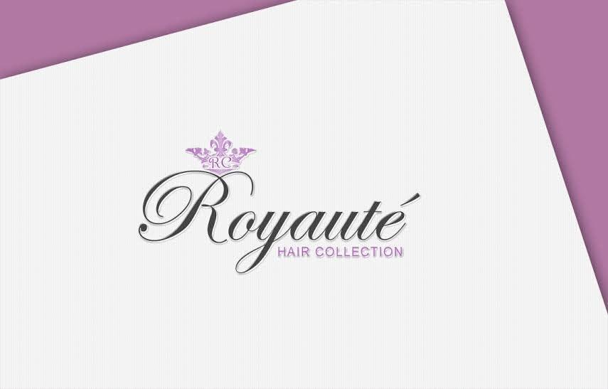 Penyertaan Peraduan #19 untuk Design a Logo for Royaute Hair Collection