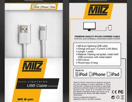 #25 for Create Packaging Designs for iPhone Cable af madlabcreative