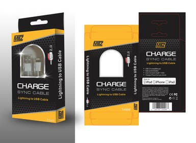 #9 for Create Packaging Designs for iPhone Cable af AramDesigne