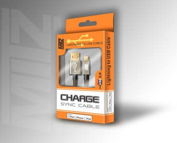 #15 untuk Create Packaging Designs for iPhone Cable oleh AramDesigne