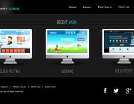 #21 untuk Design a Website Mockup for a Web-Design Agency oleh jeransl