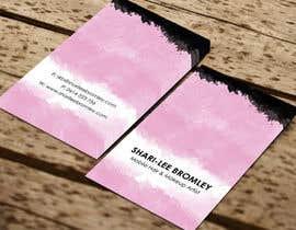 SarahDar tarafından Design some Business Cards for Hair & Makeup Artist için no 55