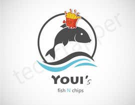 #21 untuk Design a Logo for me Youi's Fish N Chips oleh nra55a100210a8e7