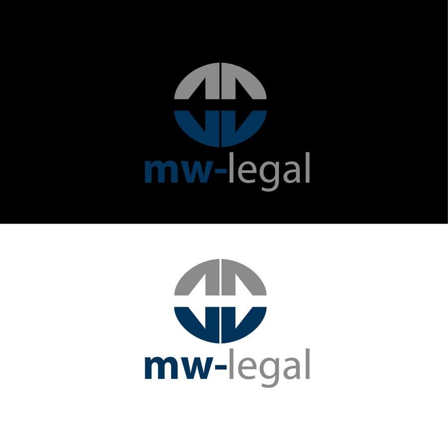 Konkurrenceindlæg #89 for Design a Logo for MW-Legal! (Simple)