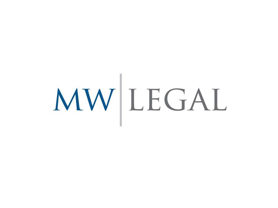 Konkurrenceindlæg #112 for Design a Logo for MW-Legal! (Simple)