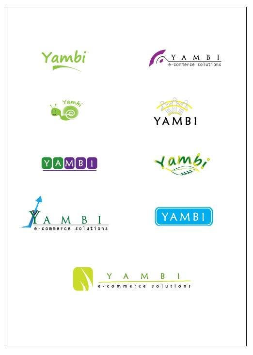 #304 for Design a Logo for Yambi (E-commerce platform) by abhijitemailme