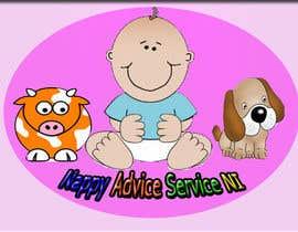 "skywebsolutionin tarafından Design a Logo for ""Nappy Advice Service NI"" için no 33"