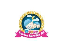 """sajjadahmad671 tarafından Design a Logo for """"Nappy Advice Service NI"""" için no 39"""