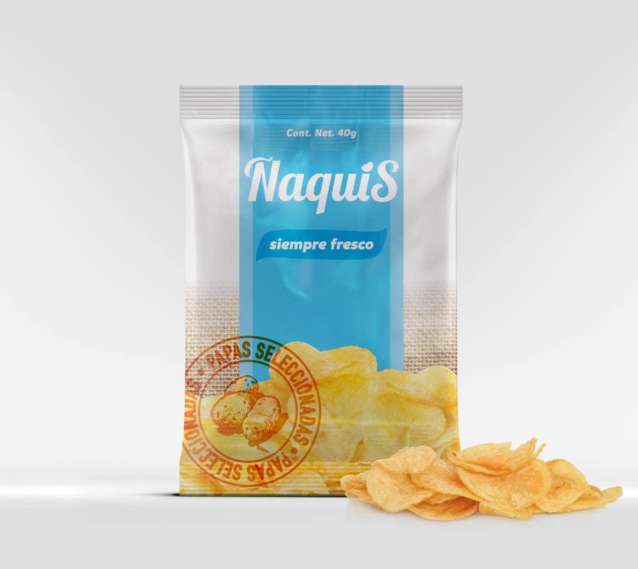 Konkurrenceindlæg #26 for Print & Packaging Design for Snacks and logo for Ñaquis Snacks