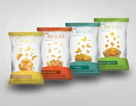 #43 untuk Print & Packaging Design for Snacks and logo for Ñaquis Snacks oleh Atutdesigns