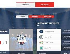 #2 for Design a Website Mockup for Haitian Soccer League af NetSolutionns