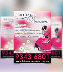 #17 cho Create A 2 Sided A-Frame Design for a Bridal Shop bởi msdvenkat