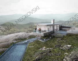 #9 untuk 3D Modelling for a house in a forest setting oleh rafalux67