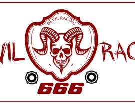 #25 untuk Design a Banner for Devil Racing car and audio oleh demotique