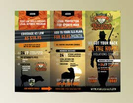 #16 untuk New Hunting-related Trifold Design Needed oleh dabanzz