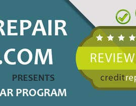 #18 untuk Design a Banner for CreditRepairReview.com oleh demotique