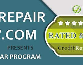 #29 untuk Design a Banner for CreditRepairReview.com oleh demotique