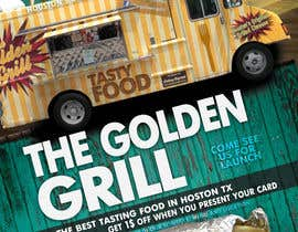 #9 for Food truck flyer for 4 food trucks by amprodzz