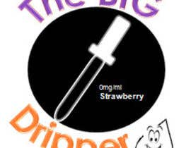 "#23 untuk Design a Logo for my e-Liquid Brand "" The Big Dripper"" oleh Consecratedhands"