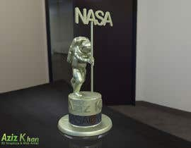 #38 for NASA Challenge:   Design a 3D Printable Award by aziz3d