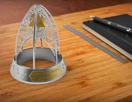 #83 untuk NASA Challenge:   Design a 3D Printable Award oleh NunoFilipeGomes