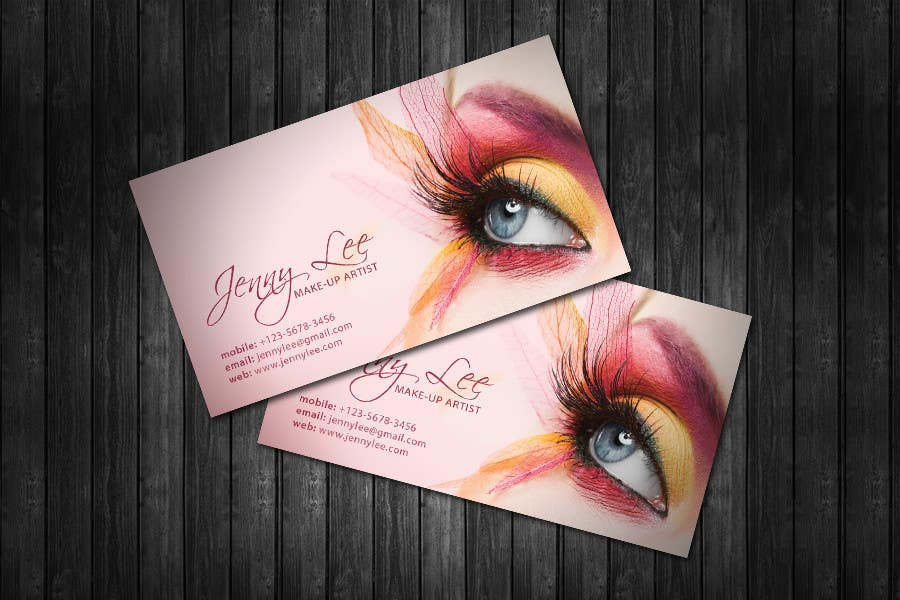 Makeup Artist Business Cards Exles Makeup Vidalondon