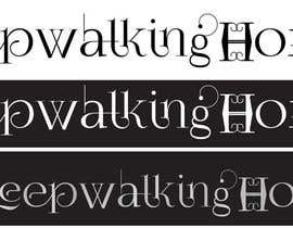 #17 cho Design a Logo for Alternative Rock band Sleepwalking Home bởi mchamber