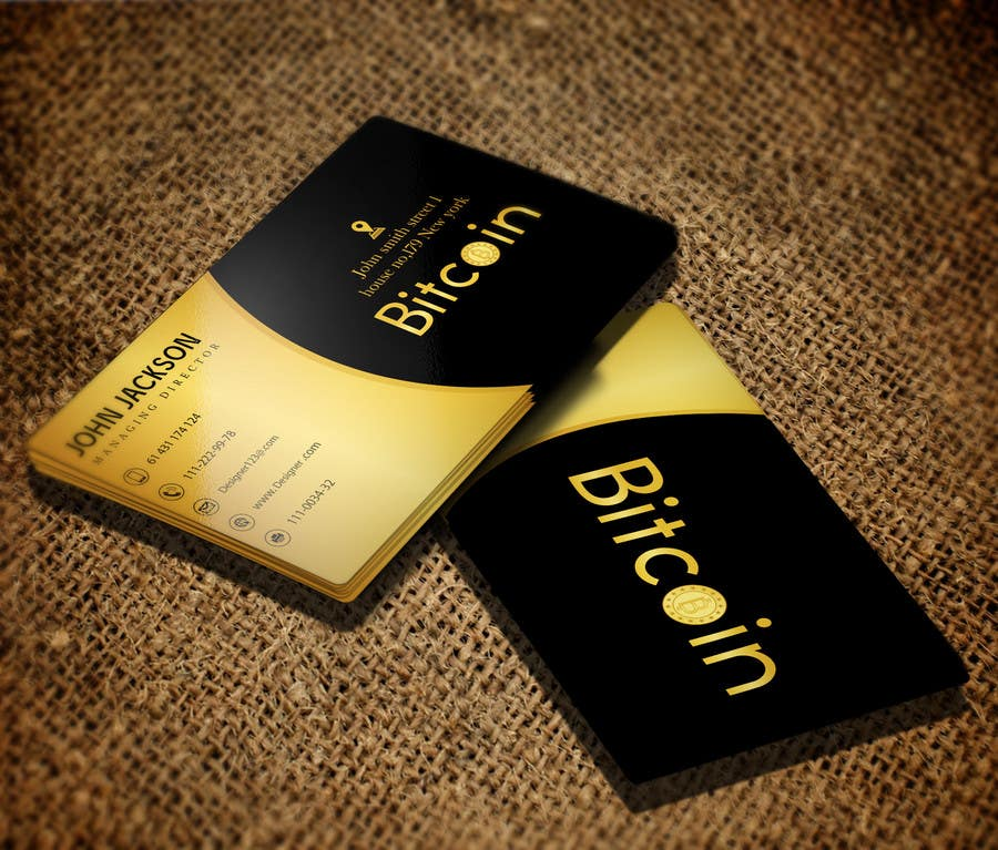 Design 10 Business Cards for Bitcoin | Freelancer