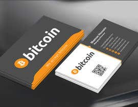 #59 cho Design 10 Business Cards for Bitcoin bởi mamun313