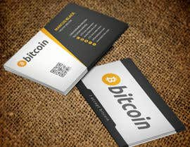 #73 cho Design 10 Business Cards for Bitcoin bởi mamun313