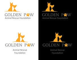 "lelDesign tarafından Logo needed for the ""GOLDEN PAW"" Foundatiton için no 29"