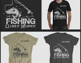 #21 for Fishing T Shirt af gredze