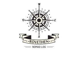#44 untuk Digital Nomad Adventure - Logo for Blog and Youtube Channel - rovethen.com oleh nashfin