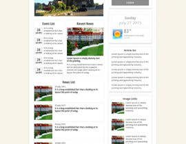 #4 untuk Design a Government Website Front/Home Page oleh bellalbellal25